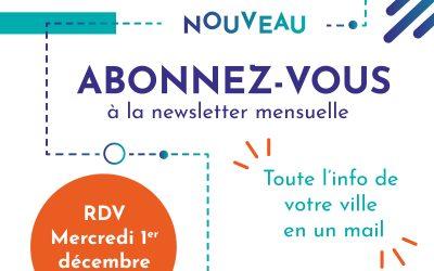 Abonnez-vous à la newsletter mensuelle